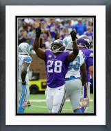 Minnesota Vikings Adrian Peterson Action Framed Photo