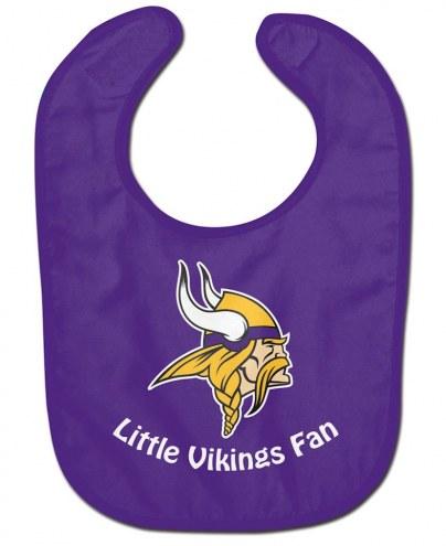 Minnesota Vikings All Pro Little Fan Baby Bib