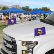 Minnesota Vikings Ambassador Car Flags