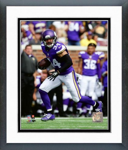 Minnesota Vikings Andrew Sendejo Action Framed Photo