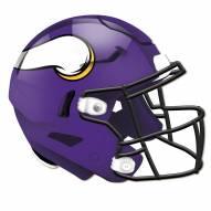 Minnesota Vikings Authentic Helmet Cutout Sign