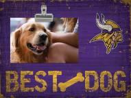 Minnesota Vikings Best Dog Clip Frame