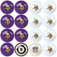 Minnesota Vikings Billiard Balls
