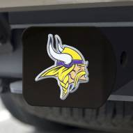 Minnesota Vikings Black Color Hitch Cover