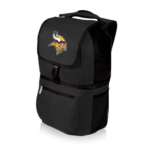Minnesota Vikings Black Zuma Cooler Backpack