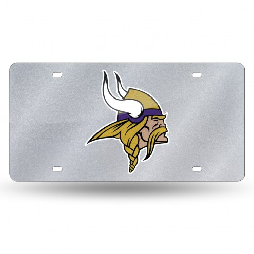 Minnesota Vikings Bling License Plate