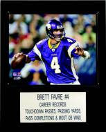 "Minnesota Vikings Brett Favre 12 x 15"" Player Plaque"