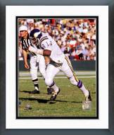 Minnesota Vikings Carl Eller 1974 Action Framed Photo