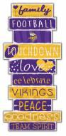 Minnesota Vikings Celebrations Stack Sign
