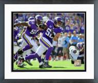 Minnesota Vikings Chad Greenway Action Framed Photo