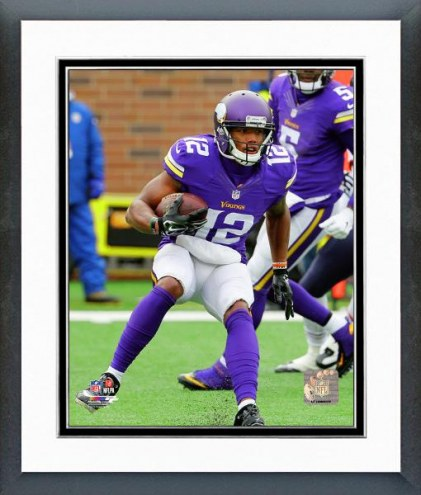 Minnesota Vikings Charles Johnson Action Framed Photo