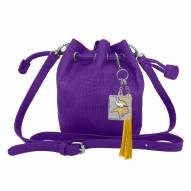 Minnesota Vikings Charming Mini Bucket Bag