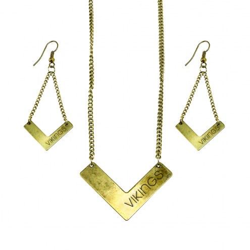 Minnesota Vikings Chevron Jewelry Set