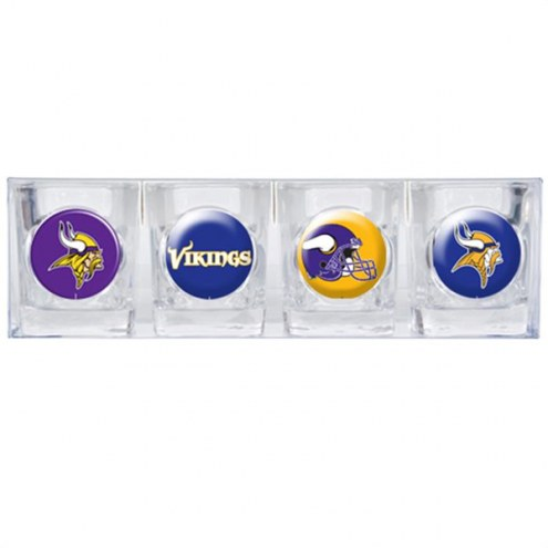 Minnesota Vikings Collector's Shot Glass Set