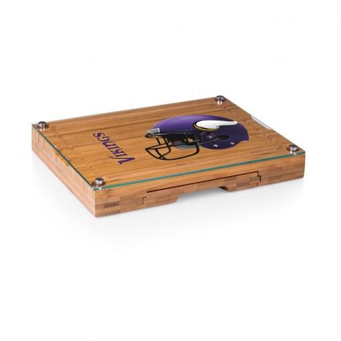 Minnesota Vikings Concerto Bamboo Cutting Board