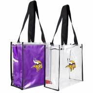 Minnesota Vikings Convertible Clear Tote