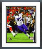 Minnesota Vikings Corey Wootton Action Framed Photo