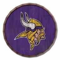 "Minnesota Vikings Cracked Color 16"" Barrel Top"