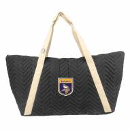 Minnesota Vikings Crest Chevron Weekender Bag