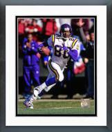 Minnesota Vikings Cris Carter 1997 Action Framed Photo