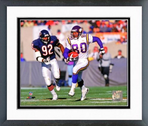Minnesota Vikings Cris Carter 1999 Action Framed Photo