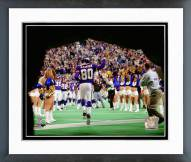 Minnesota Vikings Cris Carter Final Home December 23, 2001 Framed Photo