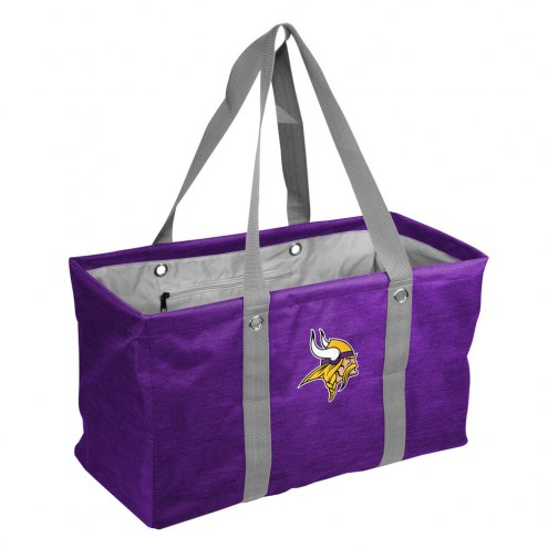 Minnesota Vikings Crosshatch Picnic Caddy