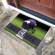 Minnesota Vikings Crumb Rubber Door Mat