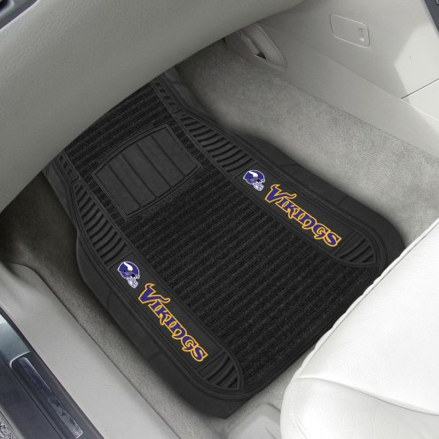 Minnesota Vikings Deluxe Car Floor Mat Set