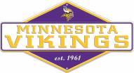 Minnesota Vikings Diamond Panel Metal Sign