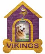Minnesota Vikings Dog Bone House Clip Frame