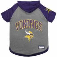 Minnesota Vikings Dog Hoodie Tee