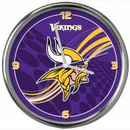 Minnesota Vikings Dynamic Chrome Clock