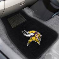 Minnesota Vikings Embroidered Car Mats