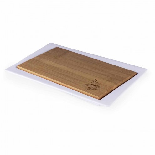 Minnesota Vikings Enigma Cutting Board & Serving Tray