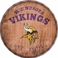 "Minnesota Vikings Established Date 16"" Barrel Top"