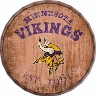 "Minnesota Vikings Established Date 24"" Barrel Top"