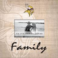Minnesota Vikings Family Picture Frame