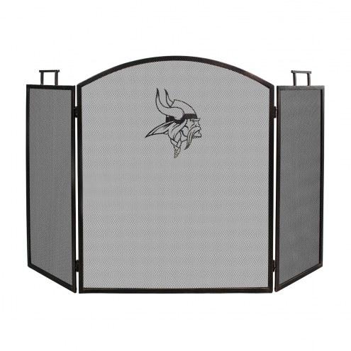 Minnesota Vikings Fireplace Screen