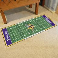 Minnesota Vikings Football Field Runner Rug