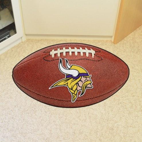 Minnesota Vikings Football Floor Mat