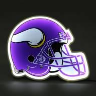 Minnesota Vikings Football Helmet LED Lamp