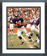Minnesota Vikings Fran Tarkenton Action Framed Photo
