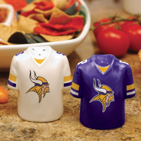 Minnesota Vikings Gameday Salt and Pepper Shakers