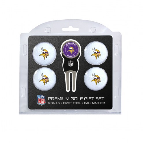 Minnesota Vikings Golf Ball Gift Set