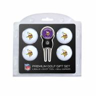 Minnesota Vikings Golf Ball Gift Set
