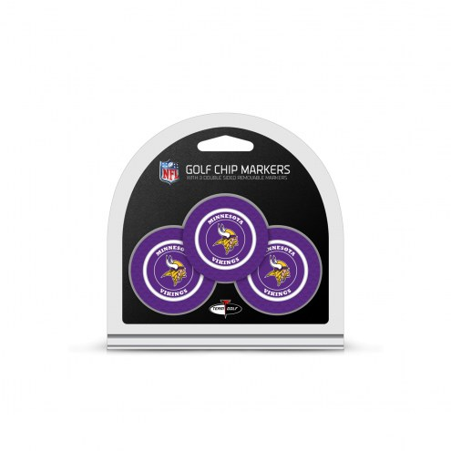 Minnesota Vikings Golf Chip Ball Markers