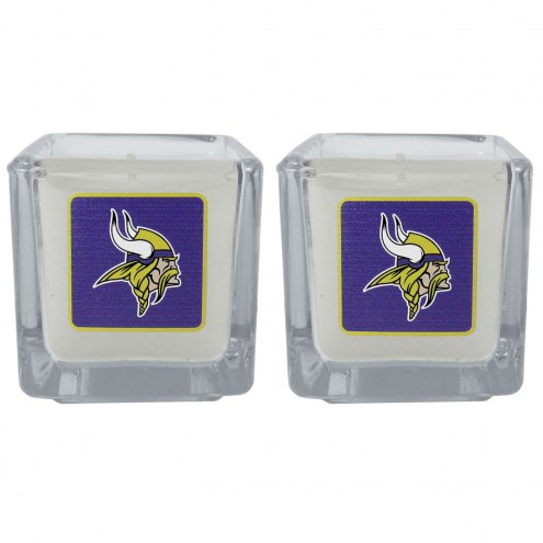 Minnesota Vikings Graphics Candle Set