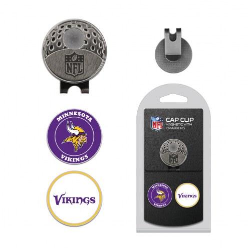 Minnesota Vikings Hat Clip & Marker Set