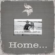Minnesota Vikings Home Picture Frame
